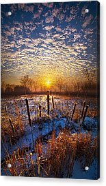 One Day At A Time Acrylic Print by Phil Koch