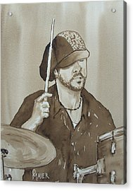 One Eyed Pete Acrylic Print by Pete Maier
