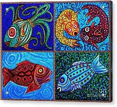 One Fish Two Fish Acrylic Print