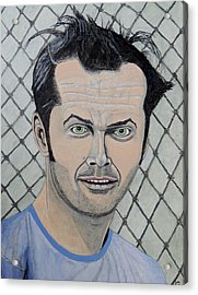 One Flew Over The Cuckoo's Nest. Acrylic Print
