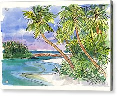 One-foot-island, Aitutaki Acrylic Print