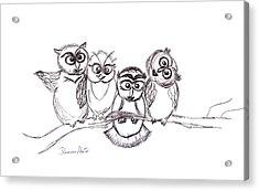One Happy Family Acrylic Print