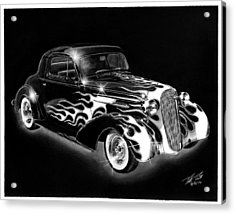 One Hot 1936 Chevrolet Coupe Acrylic Print