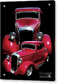 One Hot 33 Acrylic Print by Peter Piatt