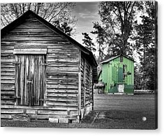One In Color Acrylic Print by Andrew Crispi