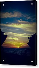 Acrylic Print featuring the photograph One Last Glimpse by DigiArt Diaries by Vicky B Fuller