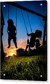 One Last Swing Acrylic Print