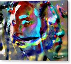 One Love Acrylic Print by Terril Heilman