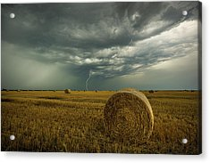 Acrylic Print featuring the photograph One More Time A Round by Aaron J Groen