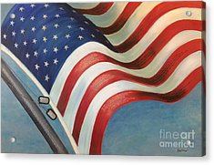 One Nation Under God Acrylic Print