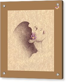One Of A Kind Me  Acrylic Print by Albert Fennell