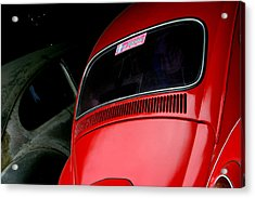 One Of Us Is Ready Acrylic Print by Jez C Self