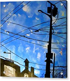 One Philly Sky Acrylic Print