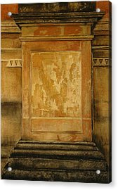 One Pillar ...of The The Lions Of Leon Acrylic Print by Shirley McMahon
