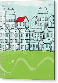 One Red Roof Acrylic Print
