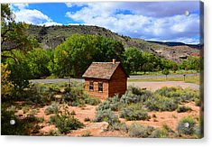 One Room School House  Acrylic Print