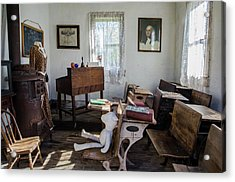 Acrylic Print featuring the photograph One Room Schoolhouse by Ann Bridges