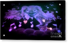 One Scary Jack-in-the-box 2 Acrylic Print