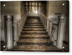 One Step At A Time Acrylic Print by Nathan Wright