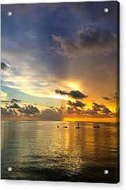 Acrylic Print featuring the photograph One Summer Night... by Melanie Moraga