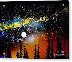 One Summer's Eve Acrylic Print by Ed Moore