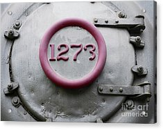 One Two Seven Three Acrylic Print by Dan Holm