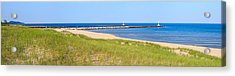 Onekama Michigan Panorama Acrylic Print