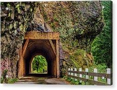 Oneonta Tunnel Acrylic Print