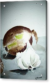 Onion And Garlic Acrylic Print
