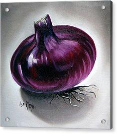 Onion Acrylic Print by Ilse Kleyn
