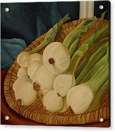 Onions Acrylic Print