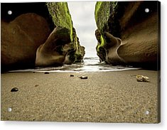 Only At Low Tide Acrylic Print
