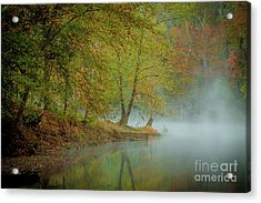 Acrylic Print featuring the photograph Only If I Go by Iris Greenwell