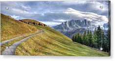 Only In The Swiss Alps Acrylic Print