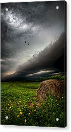 Only Time Acrylic Print by Phil Koch