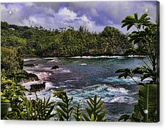 Onomea Bay Hawaii Acrylic Print