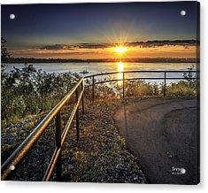 Onondaga Lake Sunrise Acrylic Print
