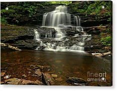Onondaga Waterfall Acrylic Print