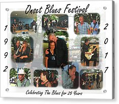 Onset Celebrates 25 Years Of Blues Acrylic Print