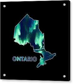 Ontario - Northern Lights - Aurora Hunters Acrylic Print