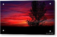 Acrylic Print featuring the photograph Ontario Sunset 6013 by Maciek Froncisz
