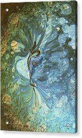 Onward Acrylic Print by Linda Sannuti