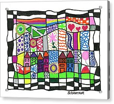 Oodles Of Doodles Acrylic Print