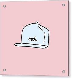 Ooh Hat Acrylic Print