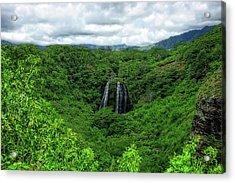 Opaeka Falls Acrylic Print