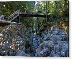 Opal Creek Bridge Acrylic Print