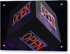 Open 2 - Acrylic Print