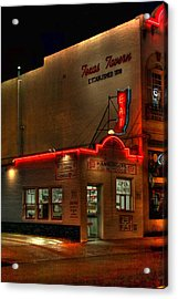 Open All Nite-texas Tavern Acrylic Print