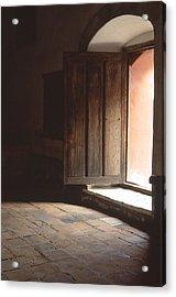 Open Door Acrylic Print by Eric Foltz