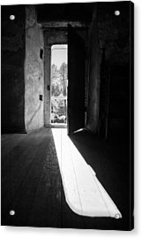 Open Door Acrylic Print by Gabriela Insuratelu